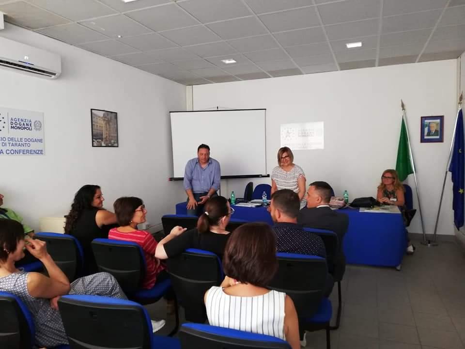 Flash Puglia 2019: Visita in Puglia del Coordinatore Nazionale Dogane e Monopoli